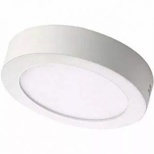 Luminária LED Sobrepor Redonda