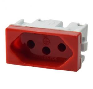Módulo de Tomada 20A Vermelha 39259
