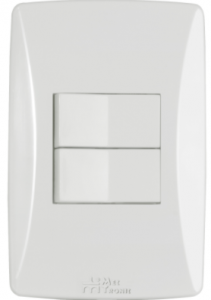 Interruptor 2 Teclas Petra – 81011