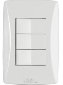 Interruptor 3 Teclas Petra – 81014