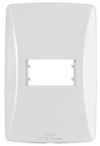 Placa 1 Módulo Horizontal 4×2 Petra 82001H