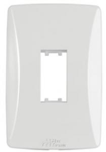 Placa 1 Módulo Vertical 4×2 Petra 82001V