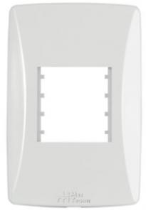 Placa 2 Módulos Horizontais 4×2 Petra 82002
